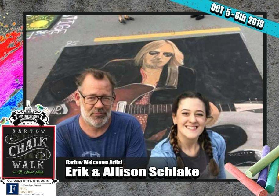 Artists Father and Daughter Allison & Erick Schlake