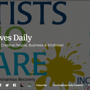 Creatives Daily Artists Event Listings