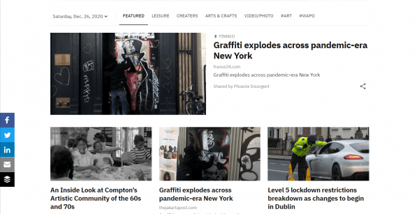 Headlines Space For Artists In The Creatives Daily