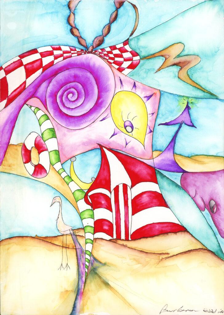 "Philadelphia Born Fine Artist Barbara Adler ""A Day at The Beach"""